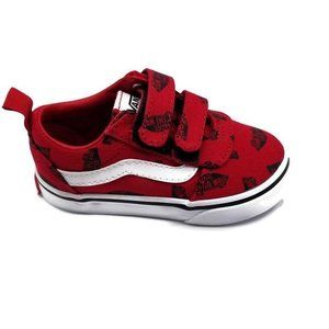 Vans Ward V Off The Wall Scatter Shoes Size 6t